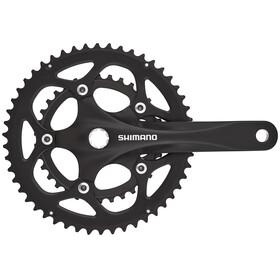 Shimano FC-R345 crankset 50/34 2x9-speed zwart
